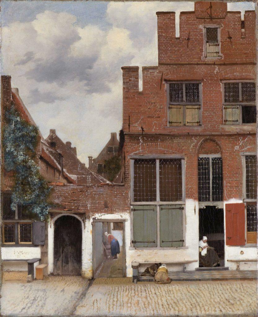 Afbeeldingsresultaat voor Het straatje van Vermeer